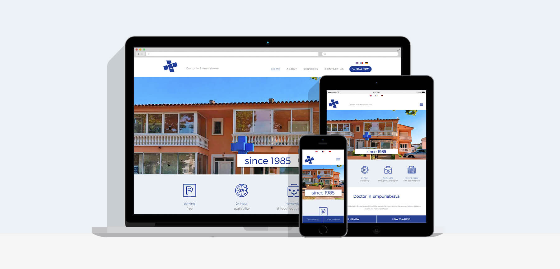 disseny pàgina web Empuriabrava
