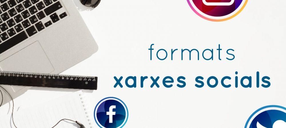 formatos redes sociales